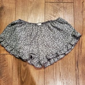 Brandy Melville John Galt Green Floral Vodi Shorts